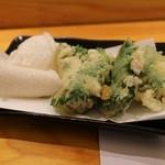 寿司光 - 白子天ぷら