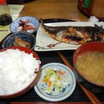 五右衛門 - 焼さば定食980円
