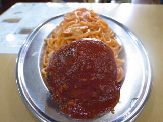 カフェテラス ポンヌフ - ハンバーグスパゲティ