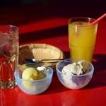 おきなわんcafeちゅらかーぎ - ランチのデザート