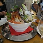 貝殻荘 - 貝殻荘の絢爛シーフードプレート