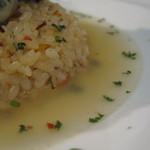 貝殻荘 - 貝殻荘の洋風牡蠣茶漬け