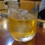 阿波水産 - 梅酒ロック