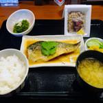 魚MARU - さば味噌煮定食