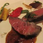 ディープブルー - 牛肉のタリアータ マスタードソース