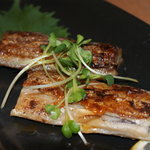 ちんちくりん - 口の中でほぐれる白身が絶品の骨なし太刀魚の鉄板焼!
