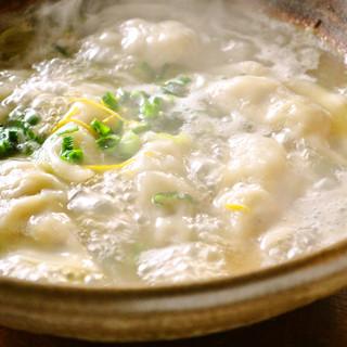 コラーゲンたっぷり!8時間かけてコトコト煮込んだ◆炊き餃子◆