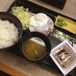 吉野家 - ハムエッグ納豆定食