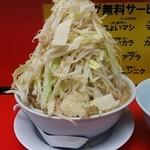 ラーメン影郎 - 野菜マシマシになります。