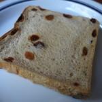 フラフィ - レーズン食パン