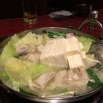 33152587 - 水餃子と豆腐をトッピング