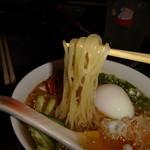 炭火焼肉 武蔵 - 冷麺 麺アップ