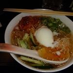 炭火焼肉 武蔵 - 冷麺