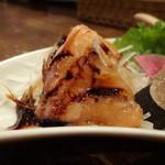 ジャミン - ちょい呑みセットの3種盛合せ:サーモンのカルパッチョ