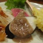 ジャミン - ちょい呑みセットの3種盛合せ:湘南野菜のバーニャカウダ