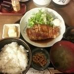 33157646 - 豚ロース生姜焼き定食 800円