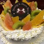 Bosco - 料理写真:オリジナルフォトケーキ