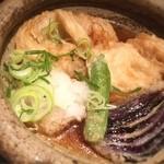 新和食 伊達 - あいなめを三枚下ろしにして小骨を骨切りして揚げてからサッと煮てある。ランチでこんな手間のかかる料理が1,080円でいただけるなんて幸せです。