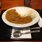 ハッサンカレー - ハッサンカレーランチ(辛口) 600円 + 大盛 100円