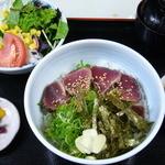 酔鯨亭 - タタキ丼