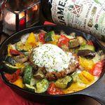 PARADE - グリル野菜のミートドリア 温玉子のせ
