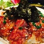 グルメハンバーグ 斉藤ファーム - 厳選A4黒毛和牛ステーキ丼990円