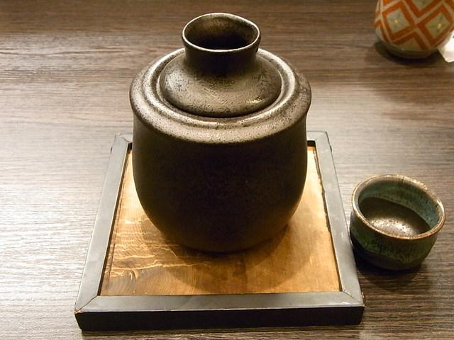 梶平 - 滋賀 萩乃露 純米山廃 ¥700 湯煎器で☆♪
