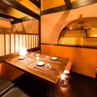 全席個室席完備■宴会コースは3500円から飲み会・宴会には