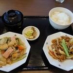八仙閣 - 料理写真:ランチメニュー