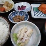 市場亭 - 紅鮭定食