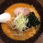 魚らん坂 - 激辛味噌ラーメン850円