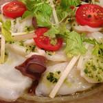 La Coccinella - 北海道産生タコのカルパッチョ