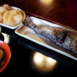 そば処こめや - 料理写真:岩魚セット