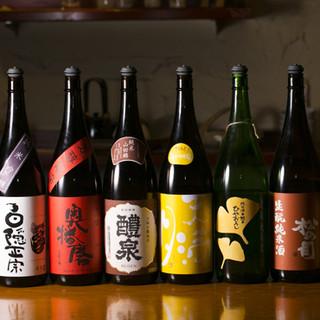 魚-さかな-和食に合う日本酒、焼酎たち
