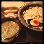麺屋 封 - つけ麺780円 玉子かけご飯