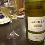 ラ グリュ - 白ワインも飲みます