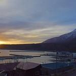 33175193 - 利尻山から昇る朝日