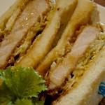 ベルファン - 三元豚のロースカツサンド