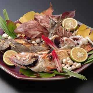◇季節の各種魚【煮物or焼物】…550円~
