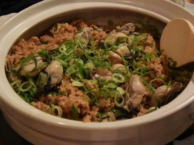 郷土大衆居酒屋 金八 - 赤穂の土鍋かき飯