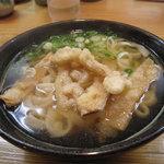 葉隠うどん - 博多で、通称『ごぼ天』と呼ばれる『ごぼう』400円。