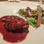 ミチノ・ル・トゥールビヨン - フランス ソローニュ産の真鴨 ソースサルミ