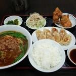 天金 - 餃子定食880円