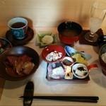 33181946 - 14.12.03 旬のお魚の茶漬け膳(1550円)