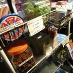 33182947 - new駄菓子コーナー。昼は奥にありました。