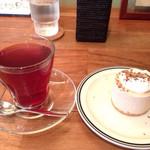 Cafe Crema - レモンジンガーと黒糖チーズケーキ