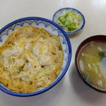 佐野新 - 料理写真:親子丼