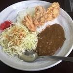 味民 - 唐揚げカレー(630円)