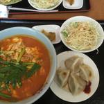 33184883 - 台湾担々麺+海鮮水餃子720円
