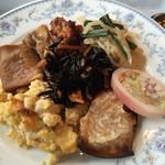 buffedainingushefuzureshipi - 和食の皿。